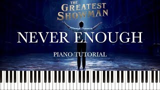 The Greatest Showman - Never Enough (Loren Allred) (Piano Tutorial & Sheets)