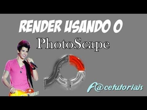 Como fazer uma render usando o PhotoScape