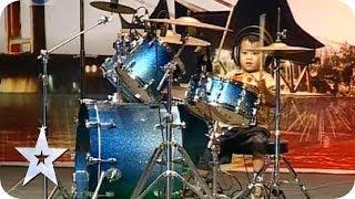 Semifinalist 48 - Elonoe drummer cilik 3 tahun