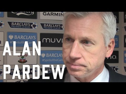 Alan Pardew post Southampton Interview