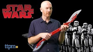 Star Wars Elite Praetorian Guard Double Blade from Disney Store