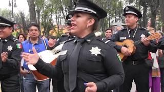 El Mariachi de la Policía Federal en la Ciudad de México