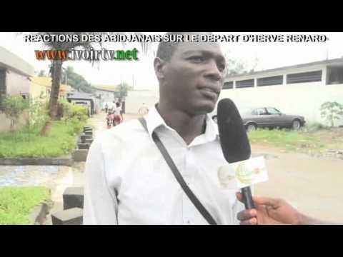 Micro-Trottoir sur le départ de Hervé Renard Entraîneur des Eléphants de Cote d'Ivoire