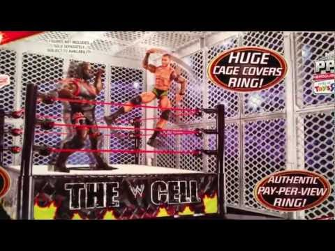 WWE ACTION INSIDER: The CELL playset TRU exclusive review Mattel ring