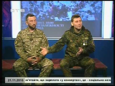 Артем Сухін & Олексій Миргородський, вояки України - гості етеру телеканалу ОТБ