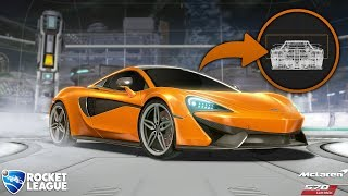 MCLAREN ROCKET LEAGUE 🚀ANÁLISIS de coches en Rocket League