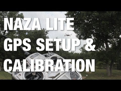 NAZA Lite and NAZA V1 GPS Mounting. Configuration. Calibration with Walkera 3 Mode Switch