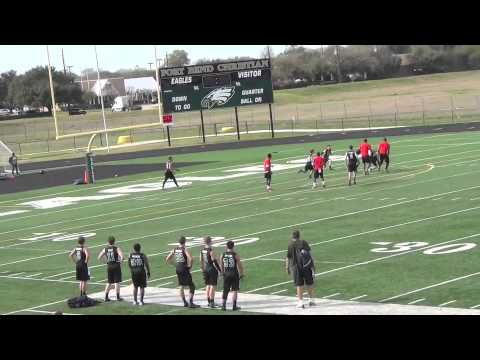 NUC 7-on-7 Highlights for Fort Bend Christian Academy - Sugar Land, TX - 02/24/2013