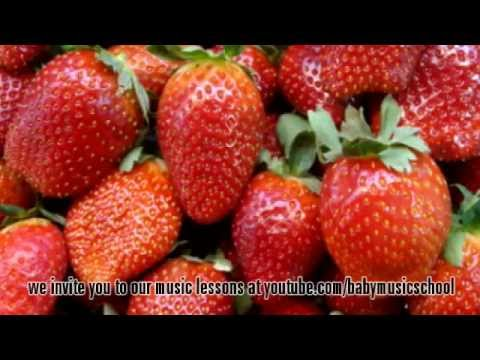 ABC song easy fruits & healthy food series: strawberry
