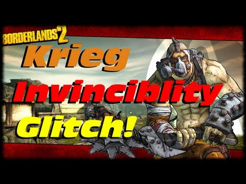 Borderlands 2 Tip Of The Day! How To Do The Krieg Invincibility Glitch!  Just The Tip!!!