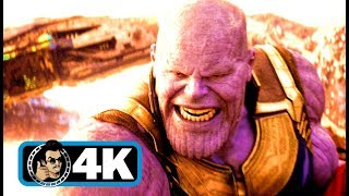 "AVENGERS: INFINITY WAR ""Thanos Fight"" Movie Clip (4K ULTRA HD)"