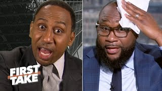 Stephen A. shreds Marcus Spears' Week 5 NFL Power Rankings | First Take