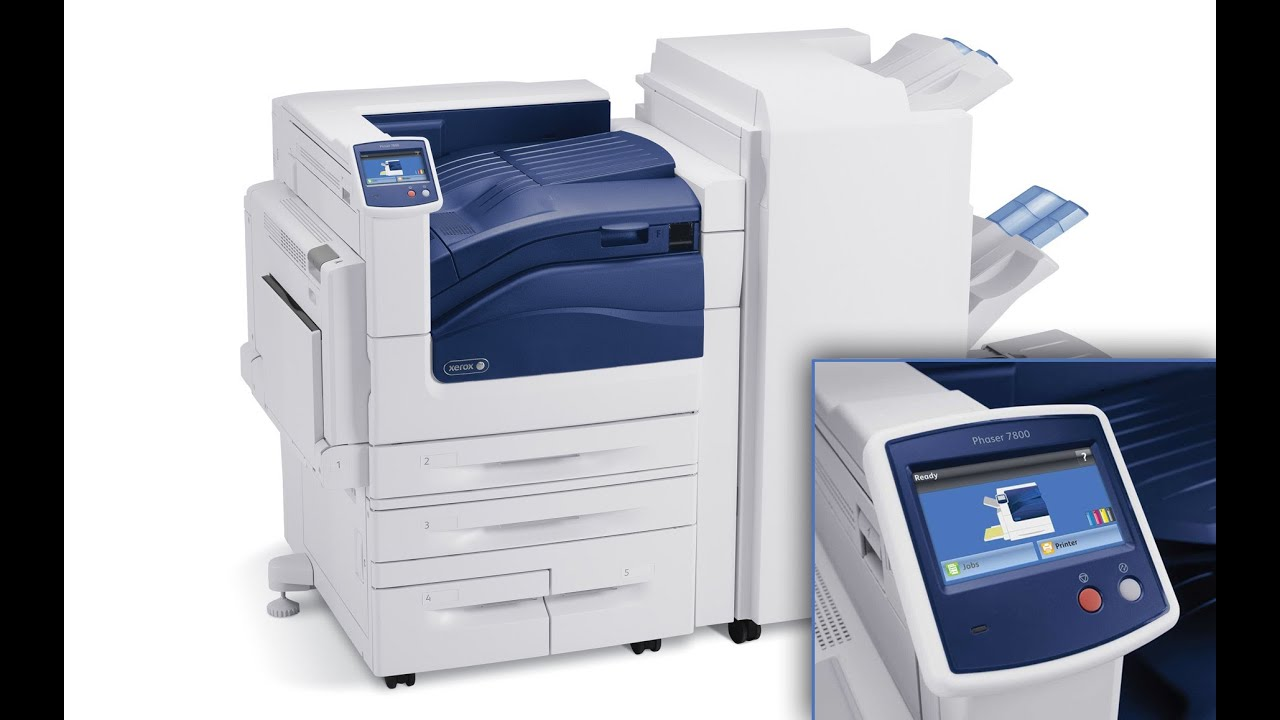 Xerox Phaser 7800: stampante dedicata alla arti grafiche ...