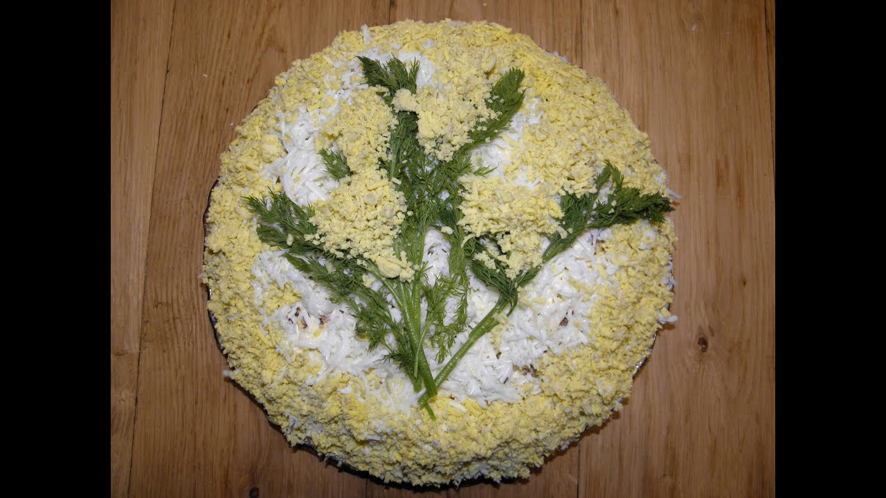 Кулинарные рецепты с салат мимоза