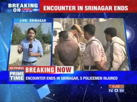 Srinagar encounter ends