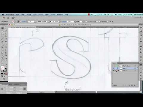 Illustrator Pen Tool Tutorial - Part 1