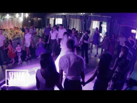Первый танец молодых.Лучшая Свадьба.Саксофон.Viva pro event