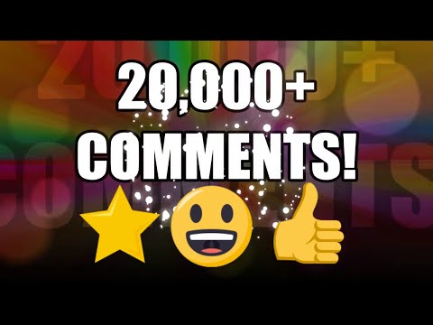 Celebrating 20,000+ Comments - THANK YOU!!! ⭐