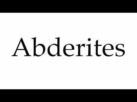 Header of Abderites