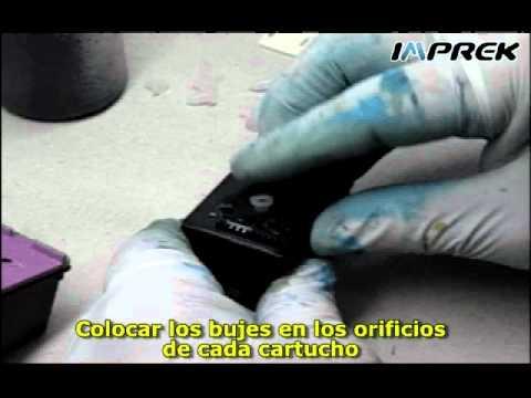 Armado de sistema continuo para cartuchos HP 60 tricolor y 60 negro (parte 1)