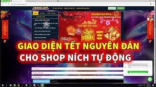 Ngọc Rồng Online - Giao Diện Tết Cho Shop Ních Tự Động !