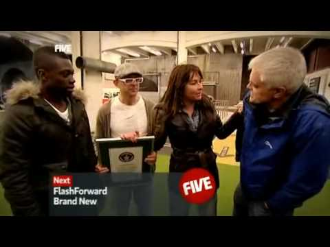 The Gadget Show Guiness Book World Record R/C Car Long Jump