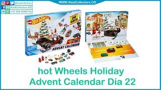 Hot Wheels Holiday Advent Calendar Día 22