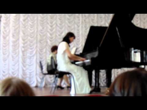 Аренский Антон - Фантазия на тему Рябинина для фортепиано с оркестром