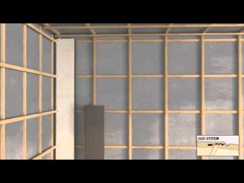 Wandpaneele laminat an die wand wandvert felung lamiwall youtube - Wandpaneele kleben ...