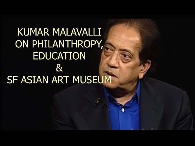 Kumar Malavalli on Entrepreneurship & Philanthropy