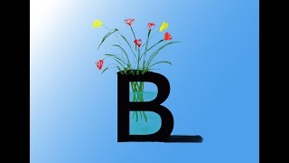 alphabet cyrillique B