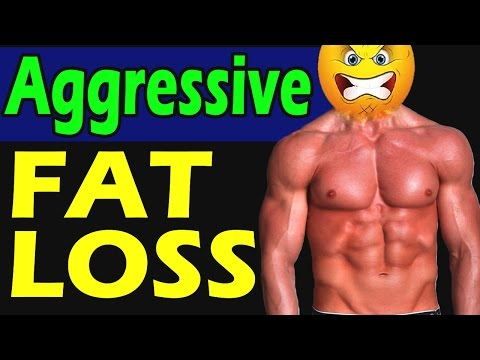 🔥How to burn fat faster🔥 Most AGGRESSIVE Fat Loss Strategy ➦ Lose 10 pounds in 2 weeks at Home Gym