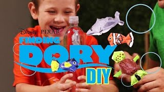 Control Fish with your MIND - Finding Dory Crafts DIY Kids