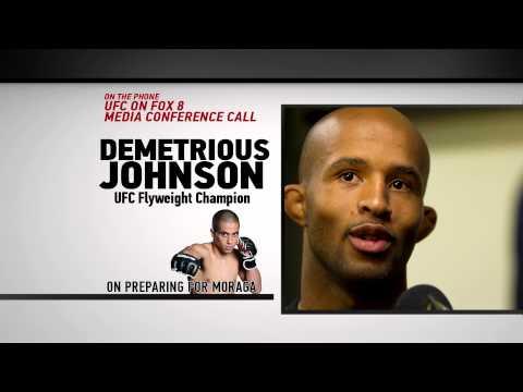UFC on FOX 8 Demetrious Johnson vs John Moraga Preview