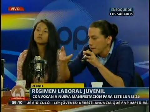 Viceministro de Promoción del Empleo presente en debate sobre régimen laboral juvenil