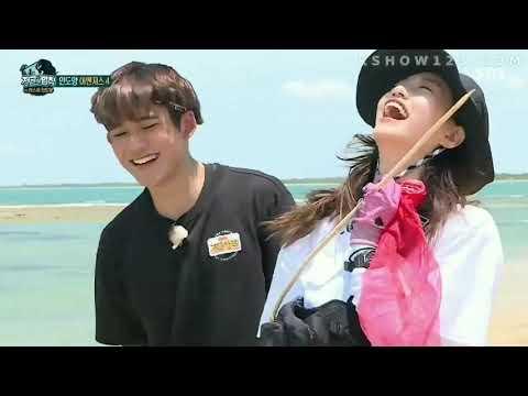 NCT Lucas & WEKIMEKI Doyeon Moments In LOTJ Ep 388 #1