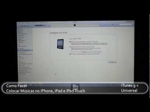 Como por Músicas no iPhone, iPad e iPod Touch - oBig.com.br