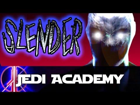 FUNNY SLENDERMAN! - Jedi Academy Slender Mod