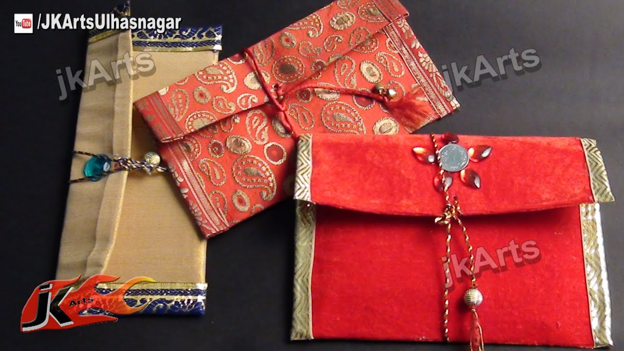 How To Diy Shagun Envelope For Gifting In Wedding Trousseau And Baby Shower Jk Arts 440