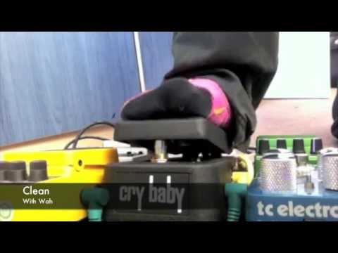 Jim Dunlop Original GCB95 Cry Baby Wah - Sound Demo