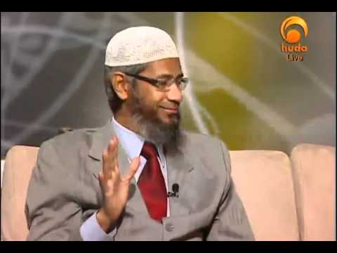 the miracle of the prophet Muhammed : Splitting of Moon by Dr Zakir Naik