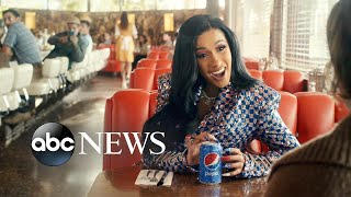 First look at Steve Carrell and Cardi B in Pepsi's 2019 Super Bowl ad