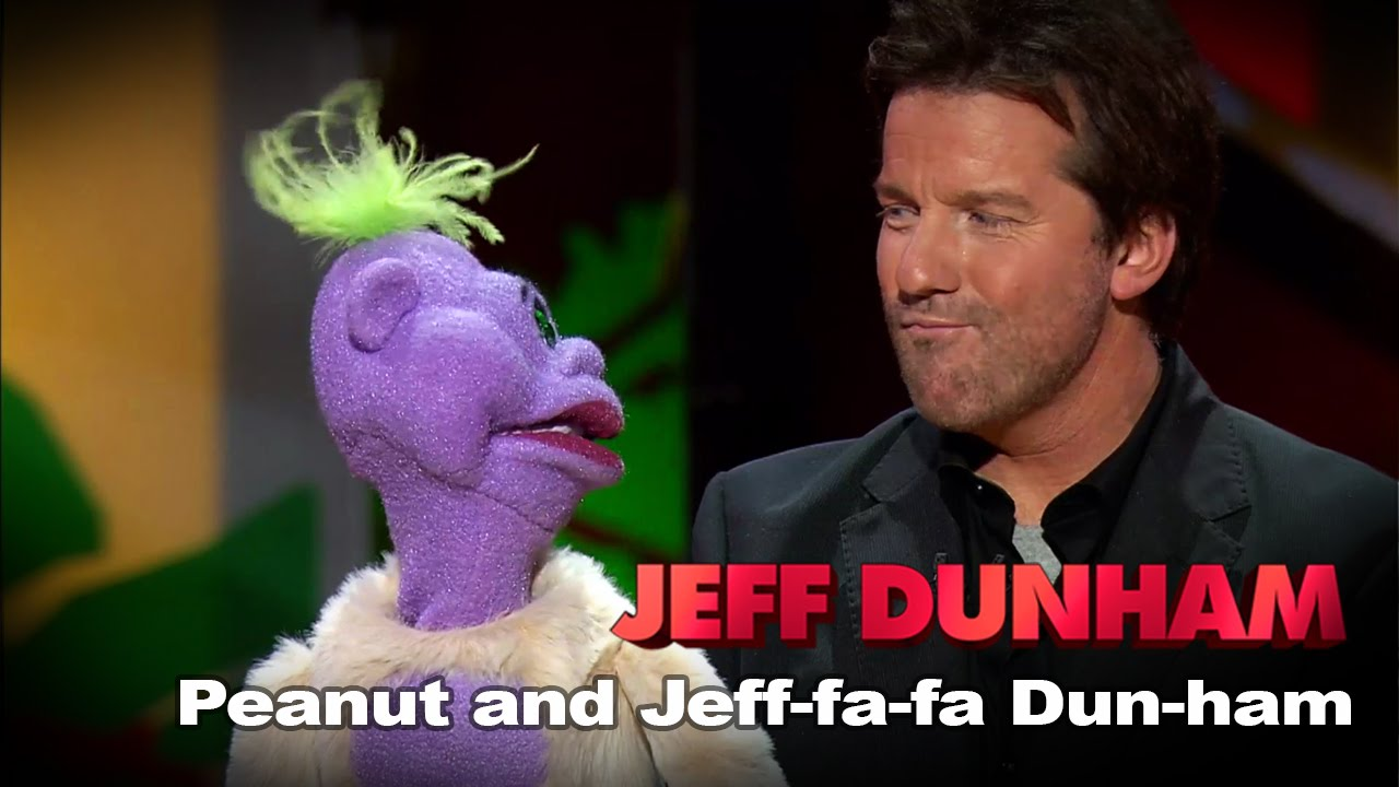 Jeff Dunham Peanut Jeff fa fa Peanut And Jeff-fa-fa