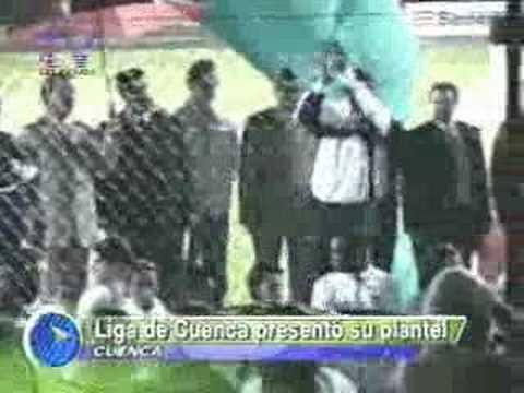 Liga de Cuenca presentó su plantel