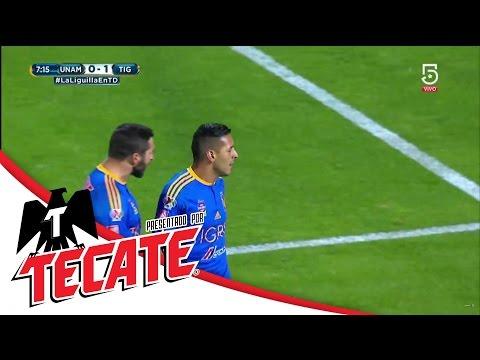 Gol de Sosa | Pumas 0 - 1 Tigres | Liguilla Apertura 2016 | Televisa Deportes