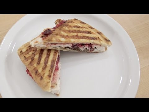Turkey Panini | Thanksgiving Leftovers Recipe