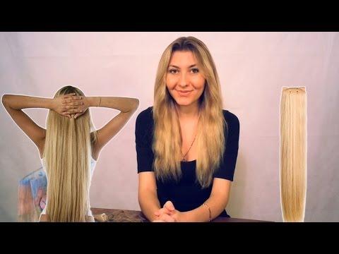 Накладные волосы на заколках от А до Я ❤