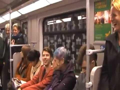 Обычный день в голландском метро