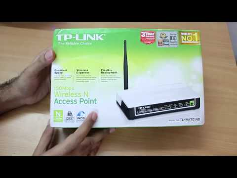 TP-LINK WiFi Repeater TL-WA701ND Unboxing
