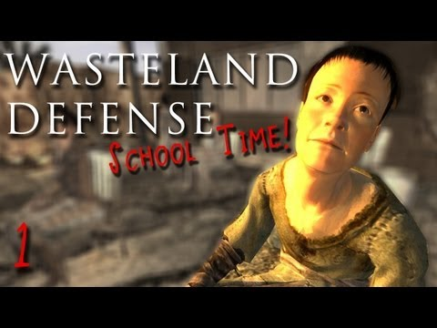 Fallout New Vegas: Wasteland Defense - School Time! - Part 1